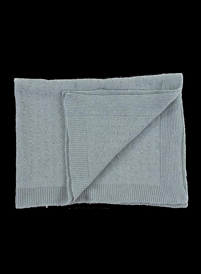 Blue Cashmere Blanket