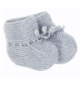 Olivier baby Cashmere Booties Blue