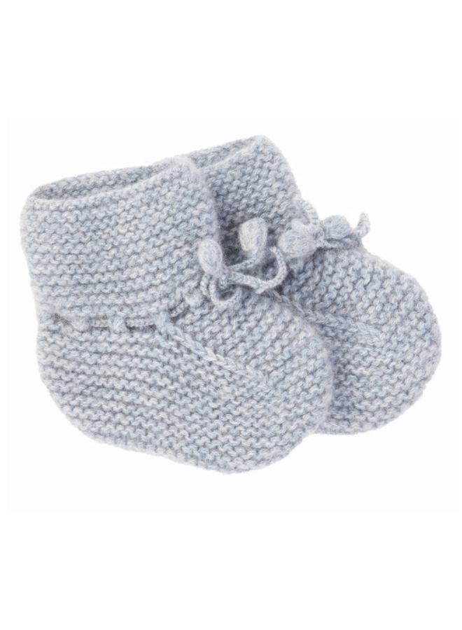 Cashmere Booties Blue