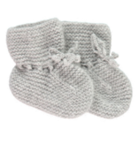 Olivier baby Cashmere Booties Elephant