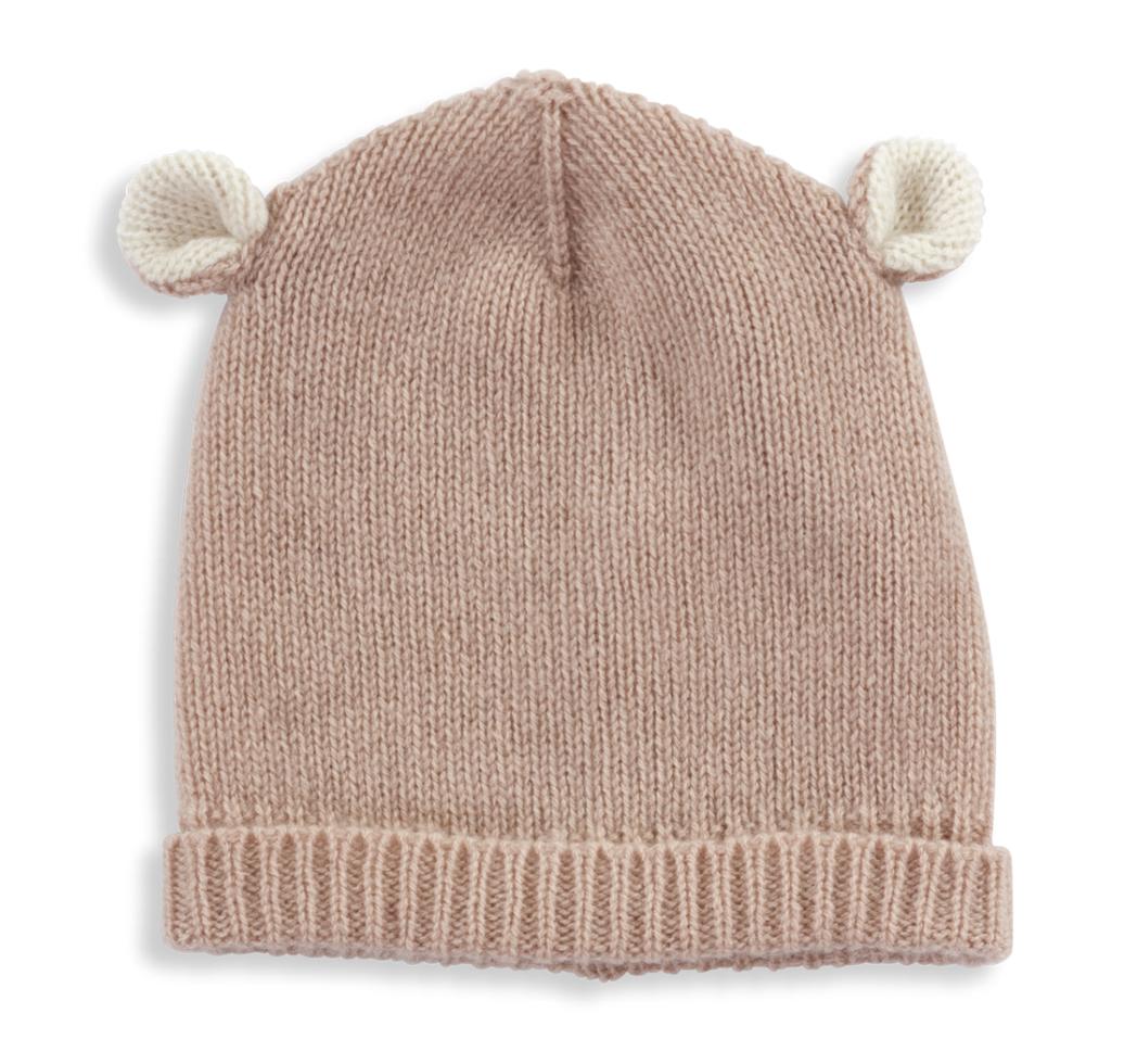 Olivier baby Cashmere Hat Pink