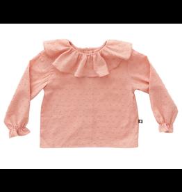 Oeuf Pink Ruffle Blouse