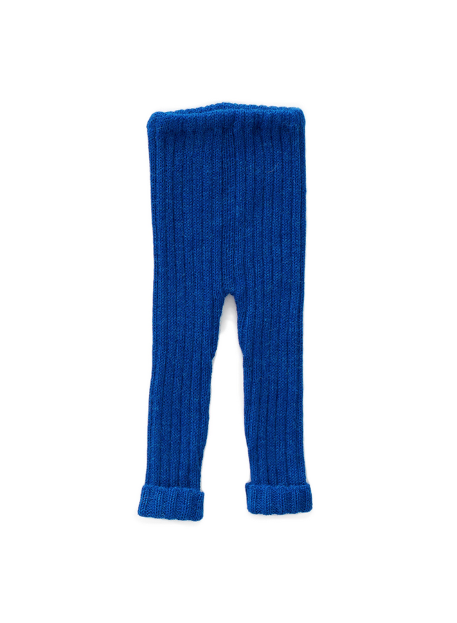 Blue Knit Pants