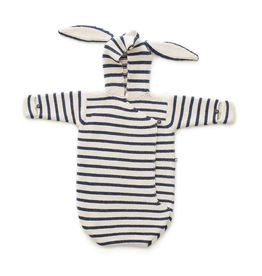 Oeuf Striped Bunny Wrap
