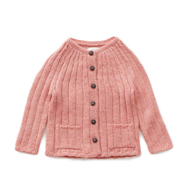 Oeuf Ribbed Cardigan