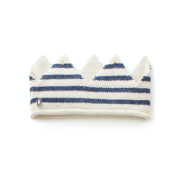 Oeuf Blue Stripe Crown