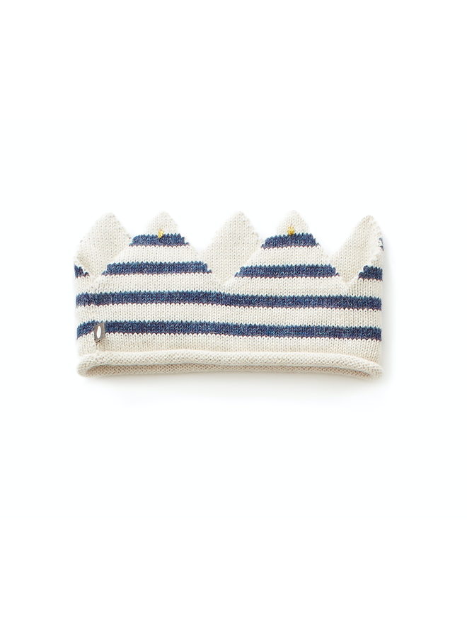 Blue Stripe Crown