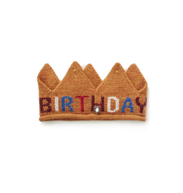 Oeuf Gold Birthday Crown