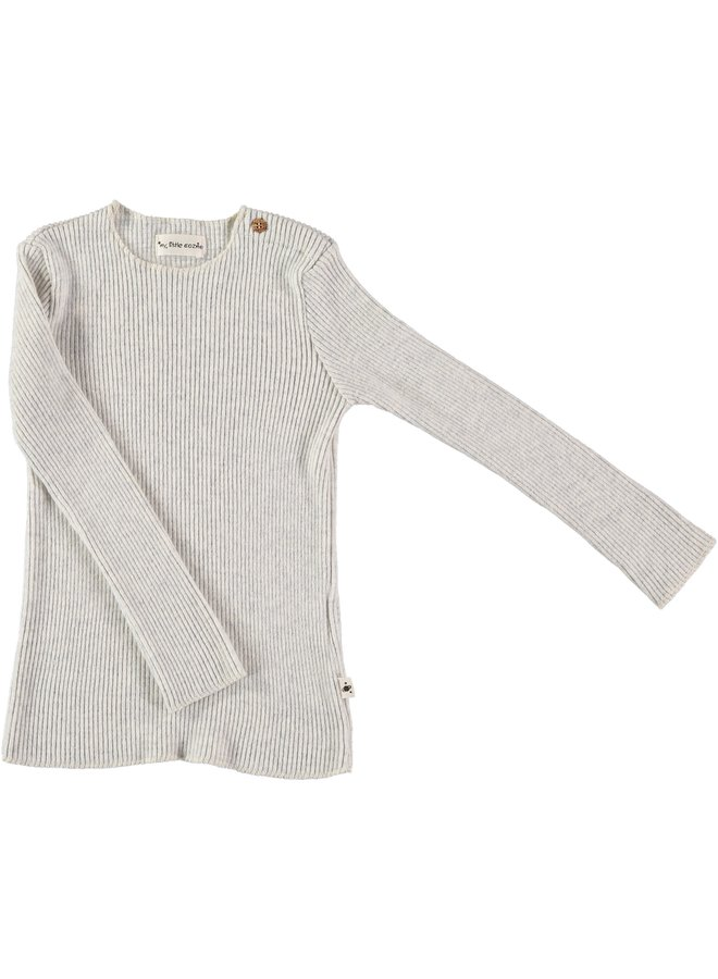 Rib Jersey Light Grey