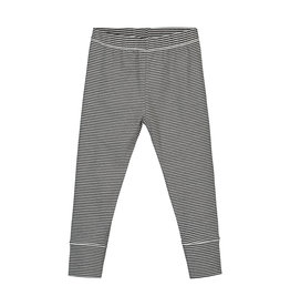 Gray Label Legging Black Cream Stripe