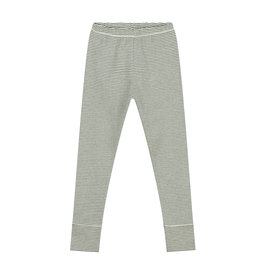 Gray Label Legging Moss Cream Stripe