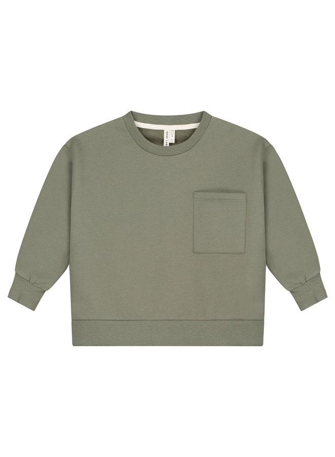 Boxy Sweater Moss