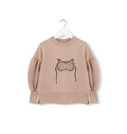 Kids on the Moon Owl Mask Sweatshirt