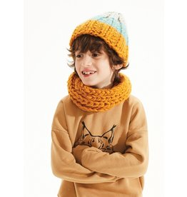 Kids on the Moon Stone Top Beanie