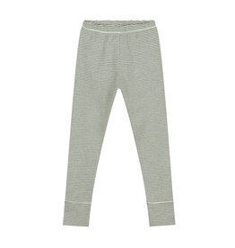 Gray Label Moss Cream Stripe Legging
