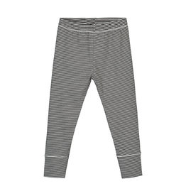 Gray Label Black Cream Stripe Legging