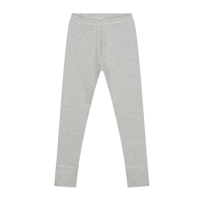 Gray Label Grey Cream Stripe Legging