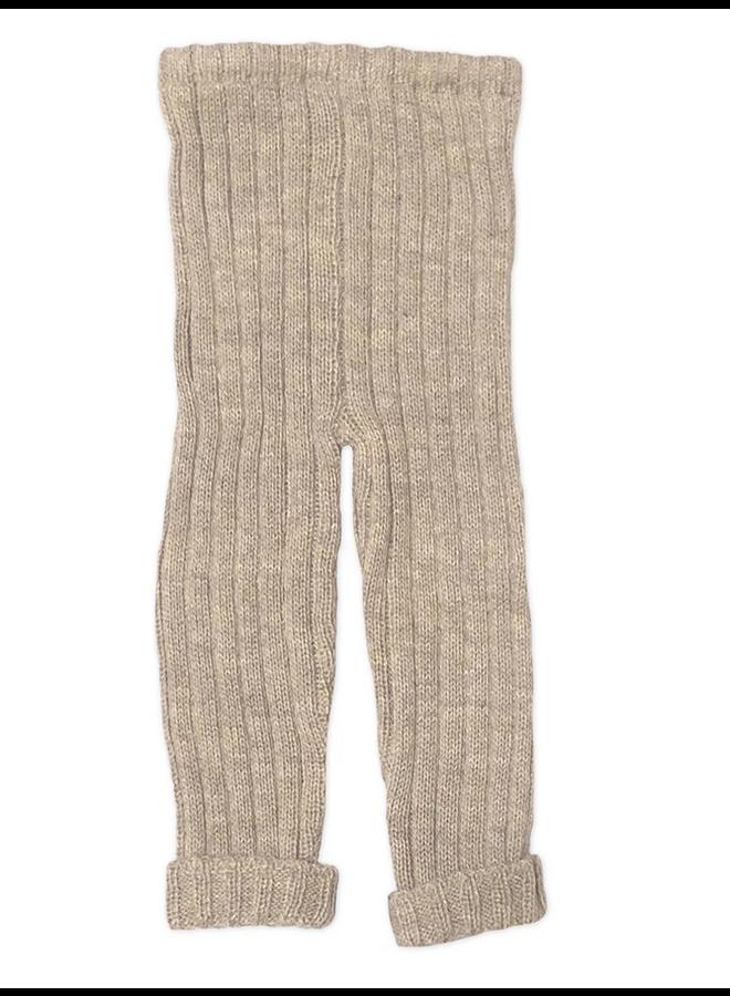 Grey Knit Pant