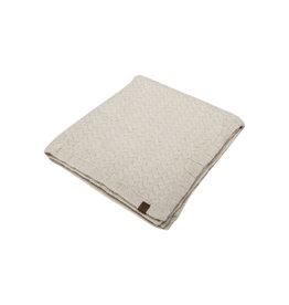 Petit Kolibri Knitted Blanket Beige