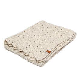 Petit Kolibri Cream Crochet Blanket