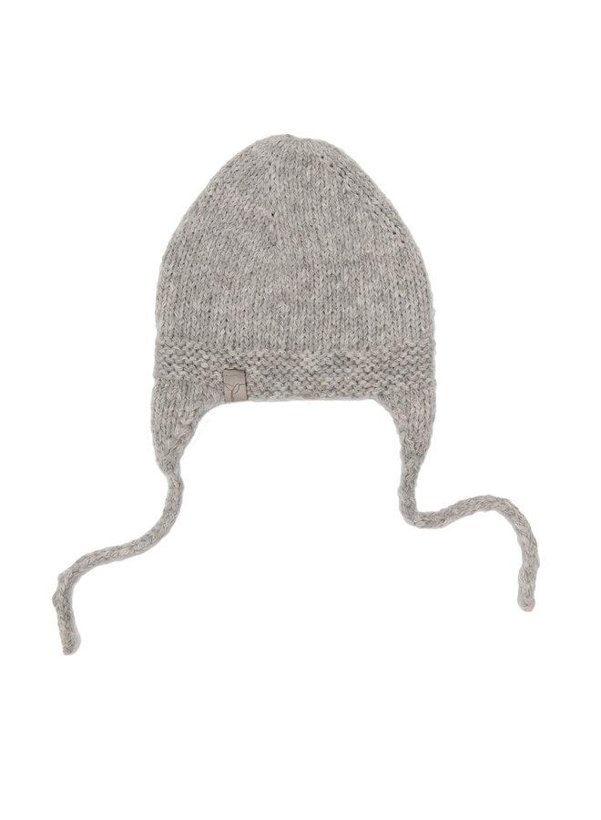 Baby Alpaca Hat Grey