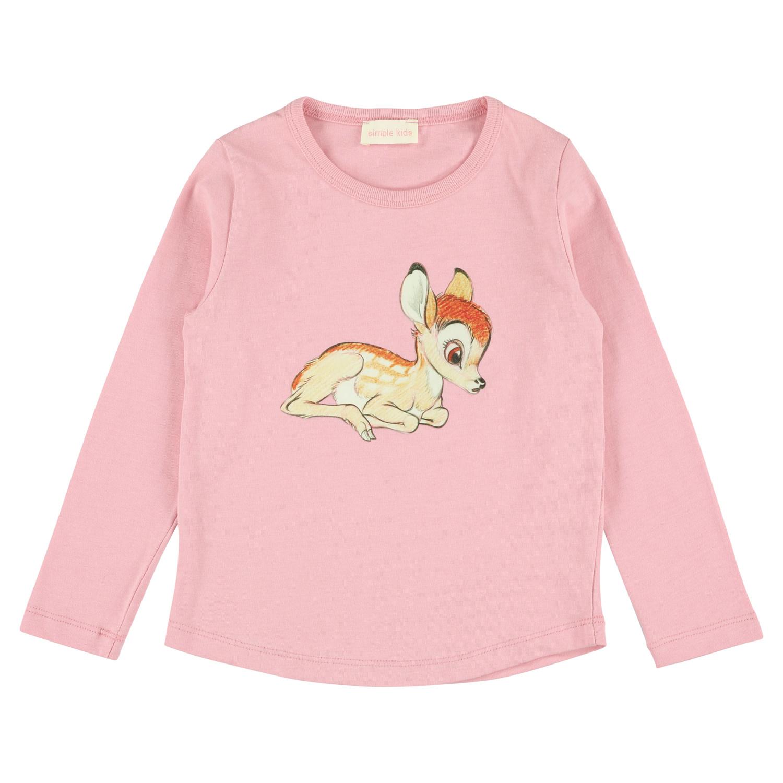 Simple Kids Bambi Jersey T Pink
