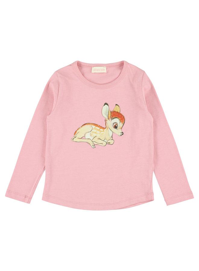 Bambi Jersey T Pink