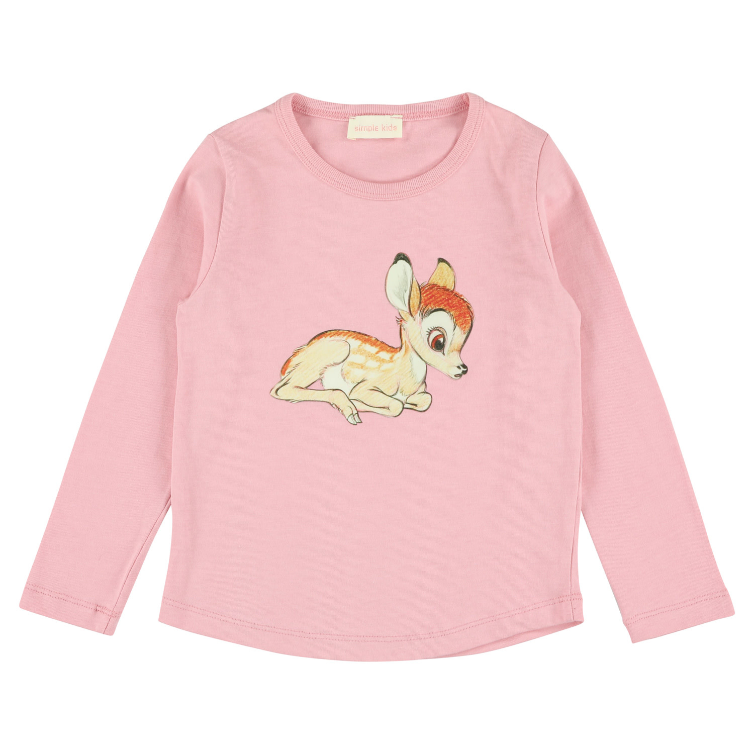 Simple Kids Bambi Jersey T Pink