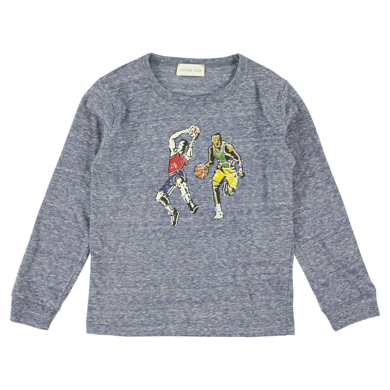 Simple Kids Basket Jersey Ciel