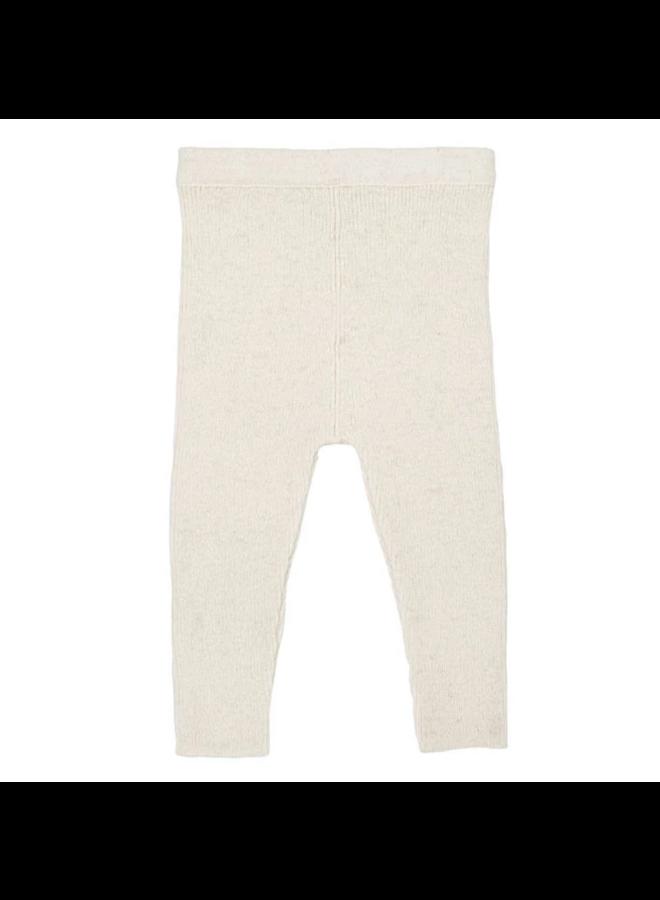 Woolen Leggings Ivory