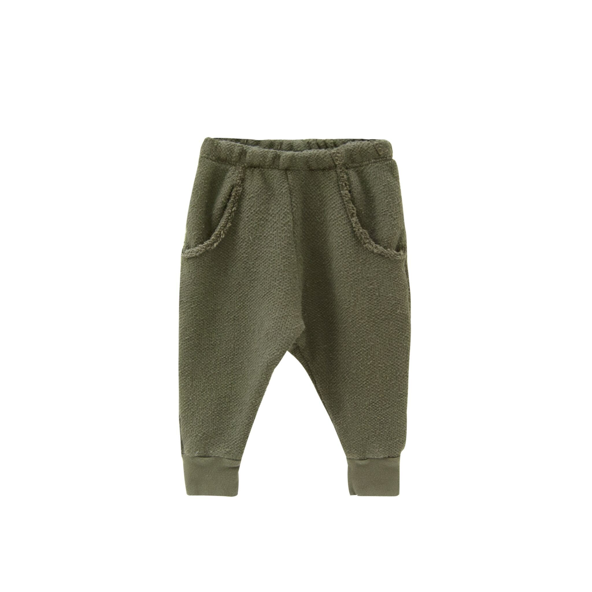 Go Gently Raw Pocket Pant Moss