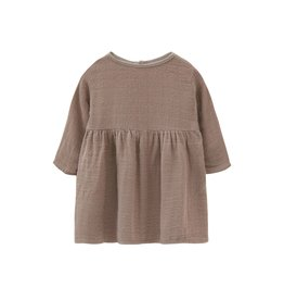 Go Gently Gauze Prairie Dress Mud