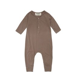 Go Gently Jersey Playsuit Mud