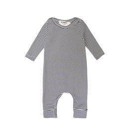 Go Gently Navy Stripe Romper