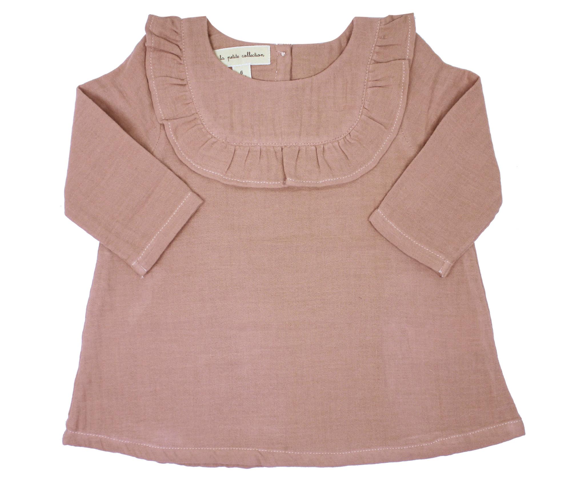 la petite collection Sand Pink Gauze Dress