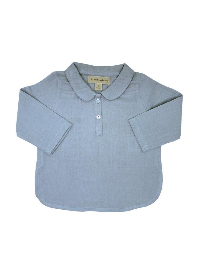 Claudine Shirt Sky Gauze