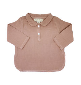 la petite collection Claudine Shirt Pink Gauze