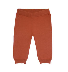 la petite collection Knit Trousers Rust