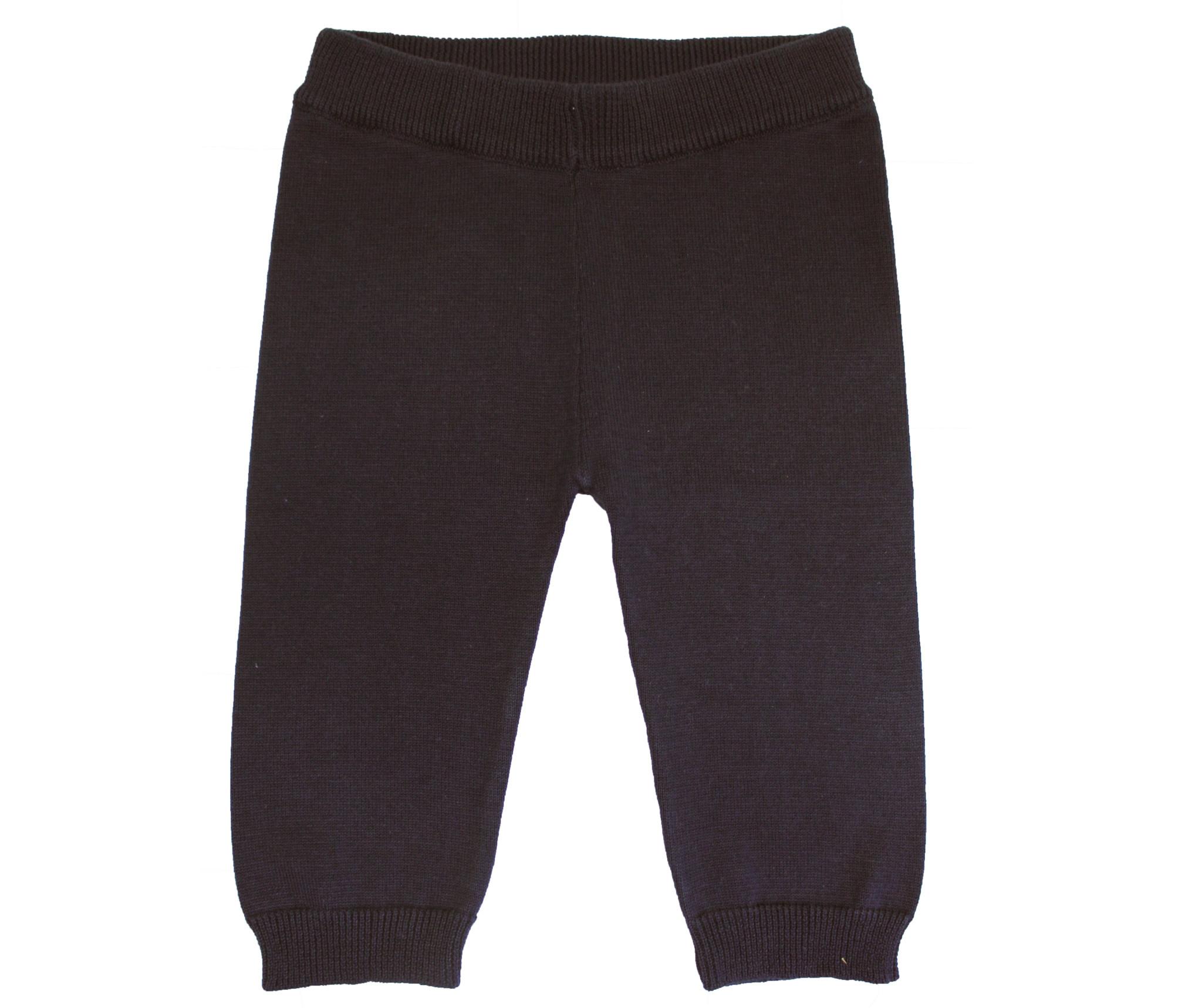 la petite collection Knit Trousers Navy