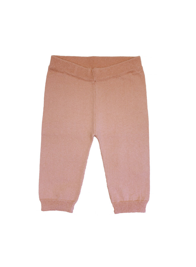 Cotton/Wool Trousers Pink