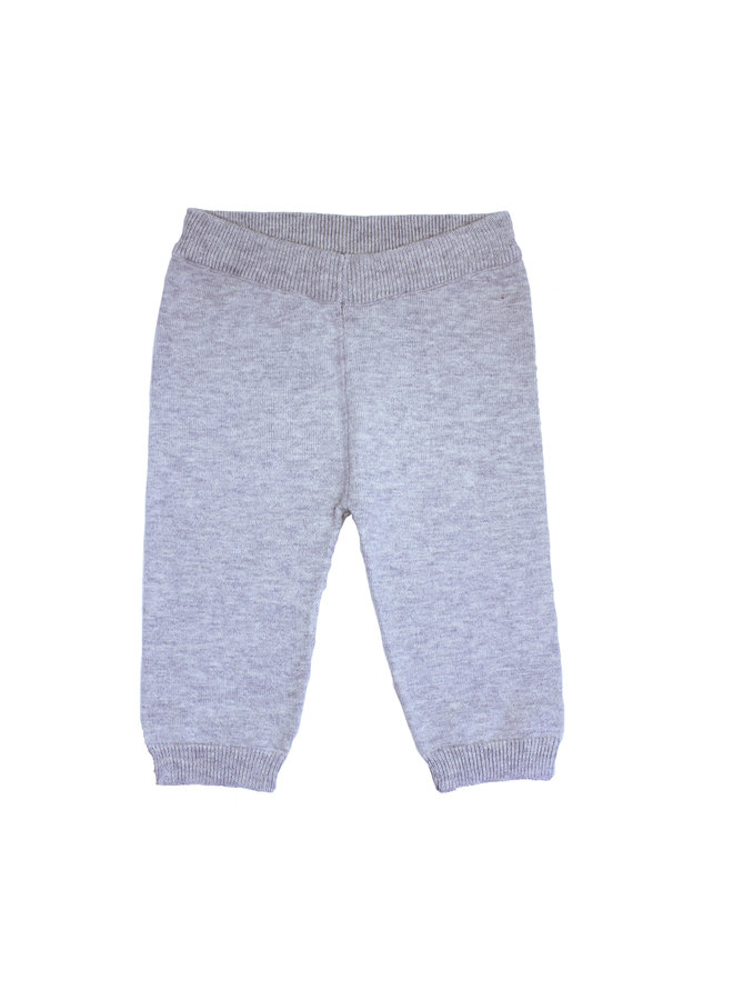 Cotton/Wool Trousers Grey