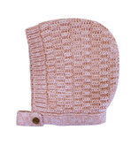 la petite collection Waffle Bonnet Pink