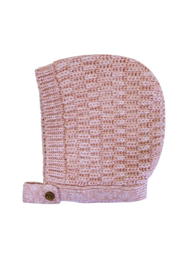 Waffle Bonnet Pink