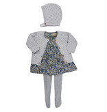 la petite collection Waffle Bonnet Grey