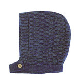 la petite collection Waffle Bonnet Blue