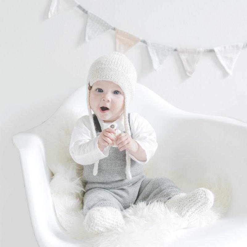Petit Kolibri Baby Alpaca Hat Beige