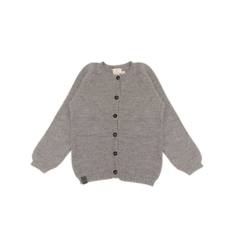 Petit Kolibri Knitted Cardigan Grey