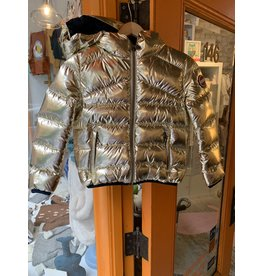 Gold Puffy Coat