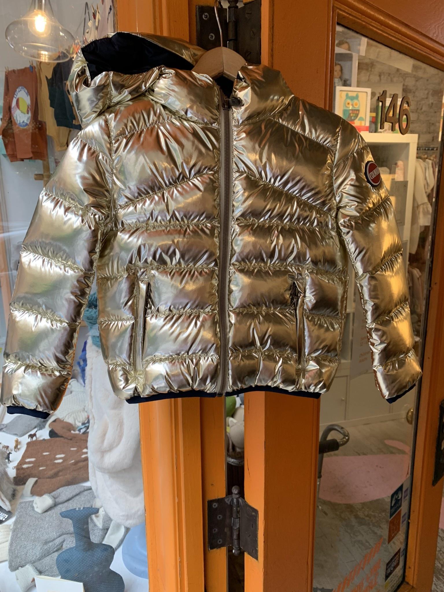Gold Puffy Coat