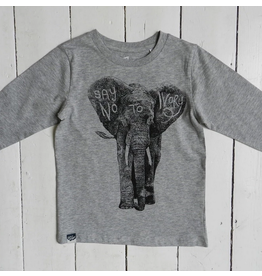 Lion of leissure Elephant Steel Grey